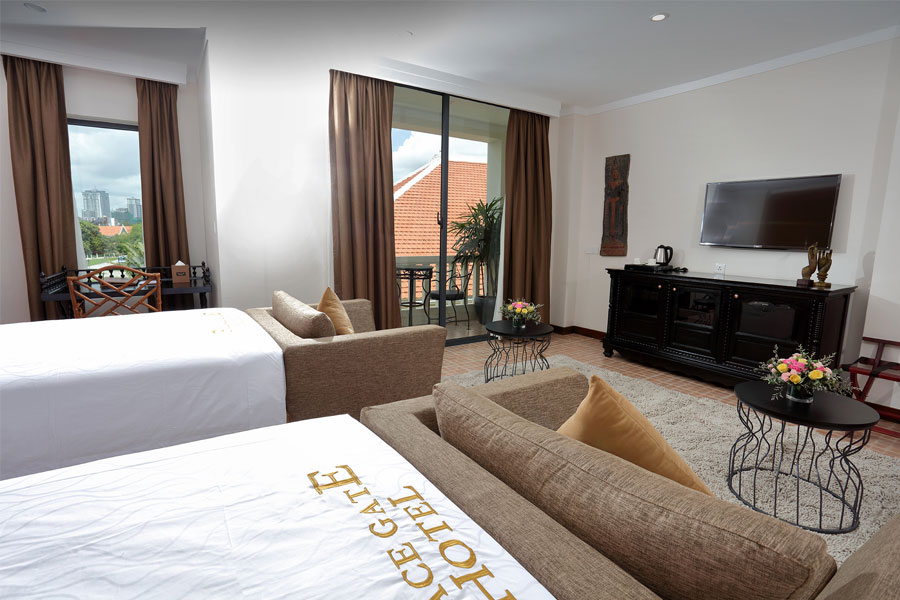 Royal Suite Twin Room with Balcony